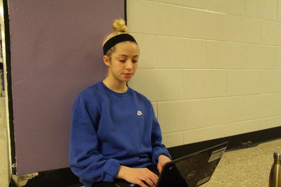 Sophomore Olivia Baxter