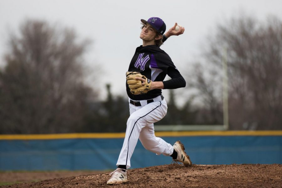 The winningest pitcher in school history is senior Max Abramovich, who takes the mound Friday against Derby.
