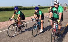 Senior Morgan Beemer rode 428 miles across Iowa