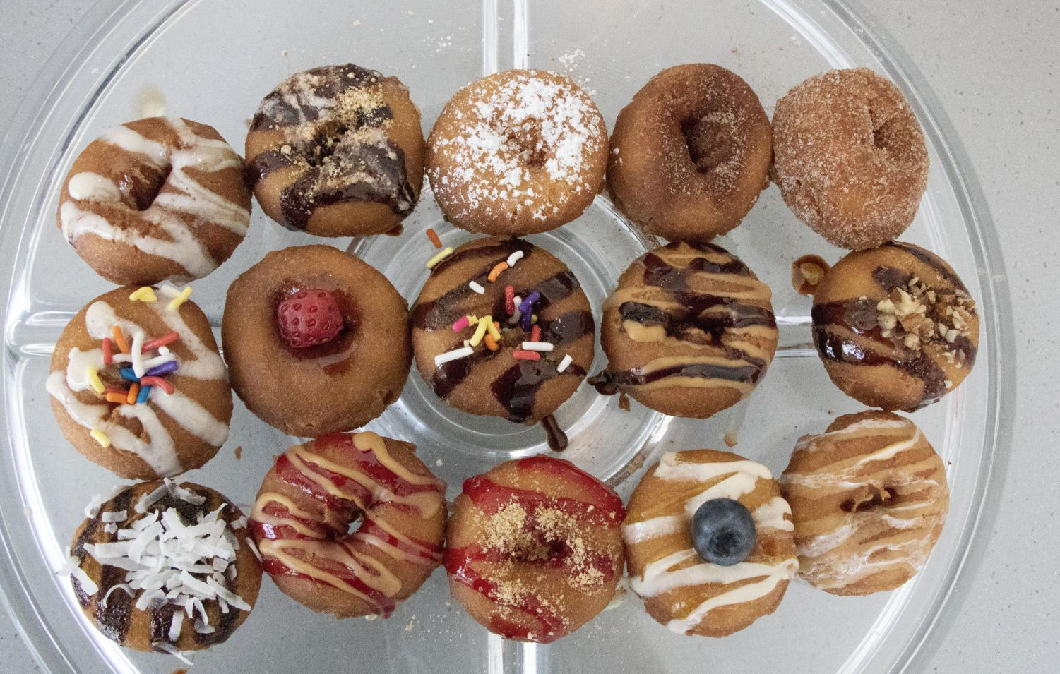 Dapper Doughnut's website classifies its doughnuts as