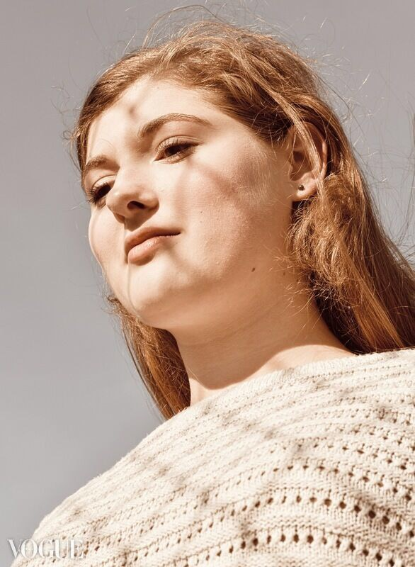 Junior+Lauren+Jindrich%27s+photo+of+junior+Avery+Anderson+was+featured+on+Vogue%27s+website.