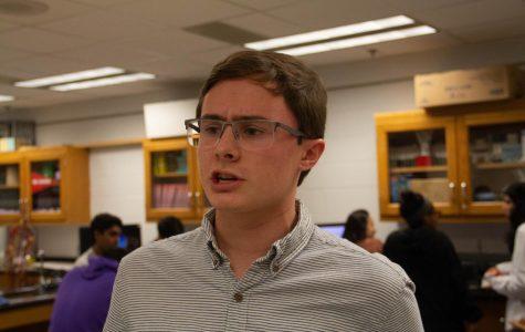 Senior Connor Parrish