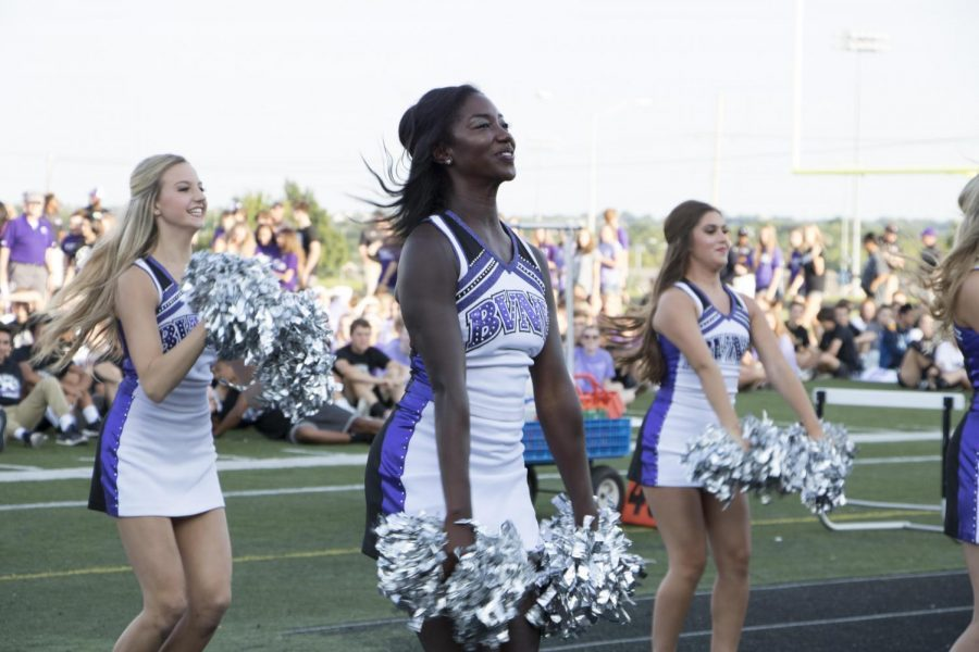 Sturdivant performs with The Dazzlers for Husky Night, Aug. 25, 2017.