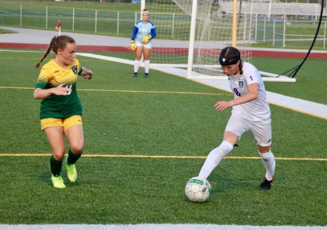 Girls soccer defeats Olathe South during senior night