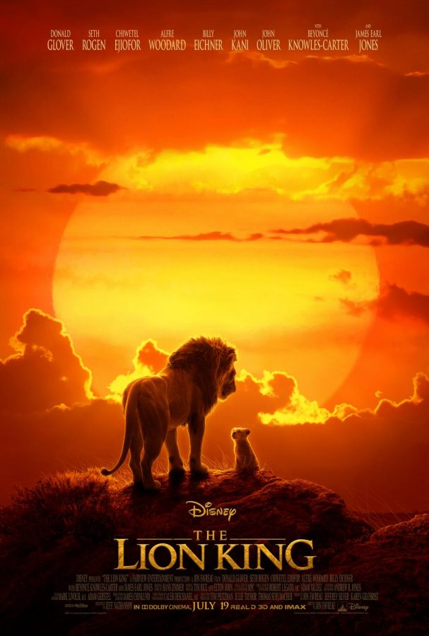 The+2019+%22Lion+King%22+remake+movie+poster.+