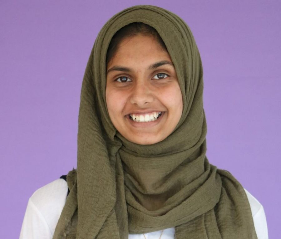 Junior Raabia Qureshi was selected to serve as the Area One KAY President on Nov. 12.