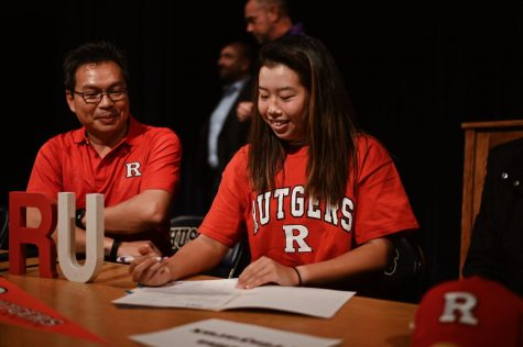Senior Alisa Prinyarux will attend the University of Rutgers for Tennis.