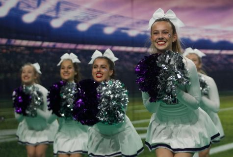 Gallery: Blue Valley Northwest cheerleading squad wins 6A KSHSAA Game Day competition