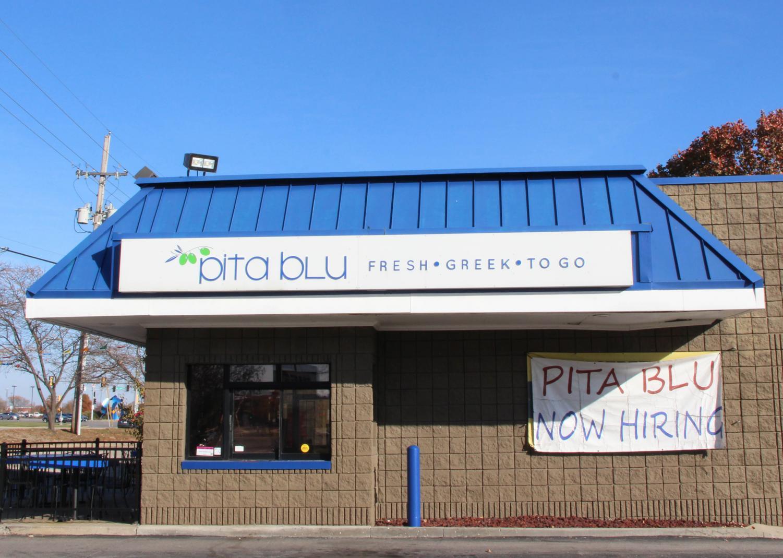 Sophomore Eliana Klathis works at her family owned Greek restaurant, Pita Blu.