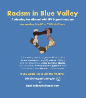 Zoom call with BV superintendent urges change for racial equality