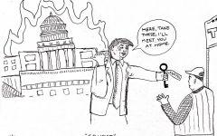 Political Cartoon: Go Home